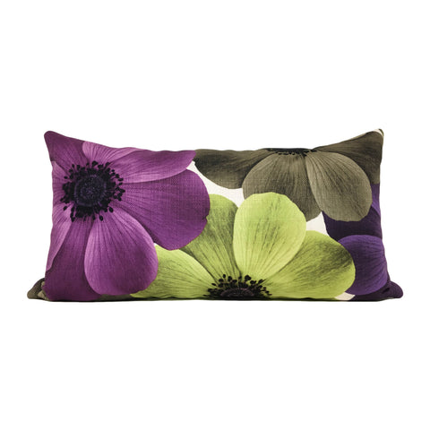 Pleasance Spring Lumbar Pillow 12x22""