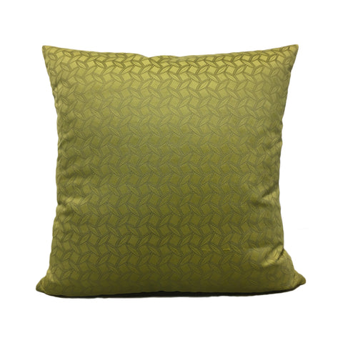 Prism Grass Green Throw Pillow 20x20""