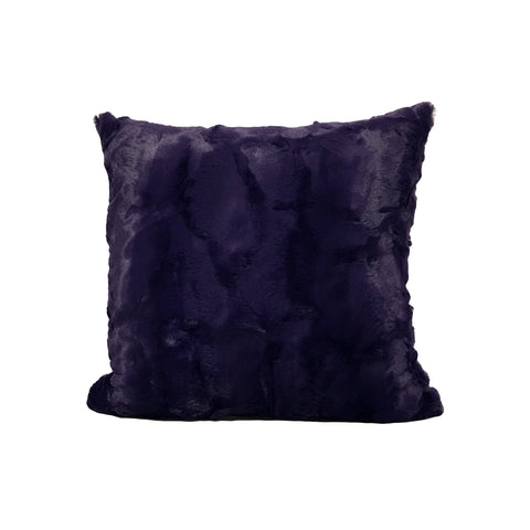 Purple Rabbit Throw Pillow 17x17