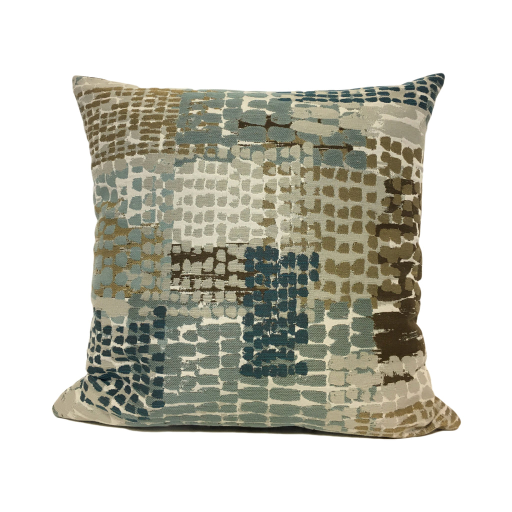 Quest Aspen Abstract Throw Pillow 20x20""