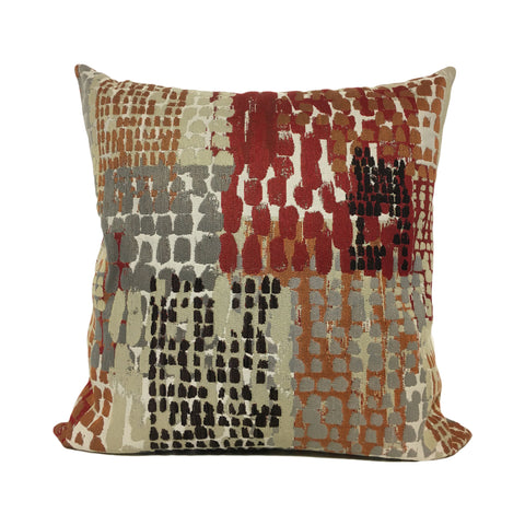 Quest Cinder Abstract Throw Pillow 20x20""