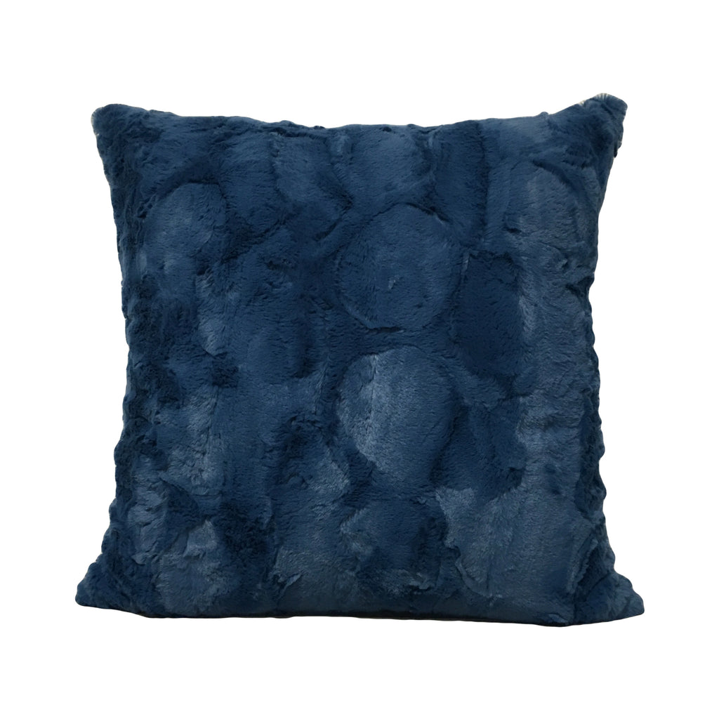Rabbit Blue Note Throw Pillow 20x20""