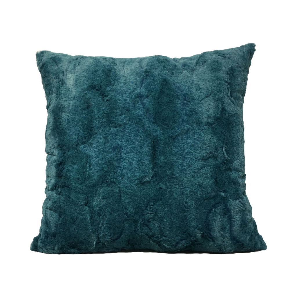 Rabbit Sea Green Throw Pillow 20x20""