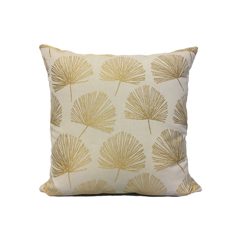 Randall Gold Throw Pillow 17x17""