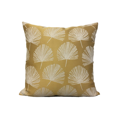 Randall Gold Inverted Throw Pillow 17x17""