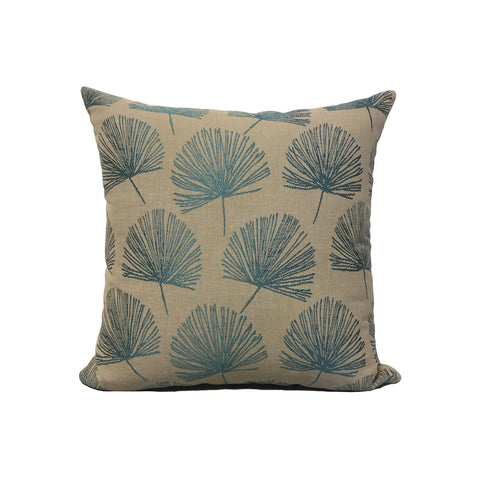 Randall Turquoise Throw Pillow 17x17""
