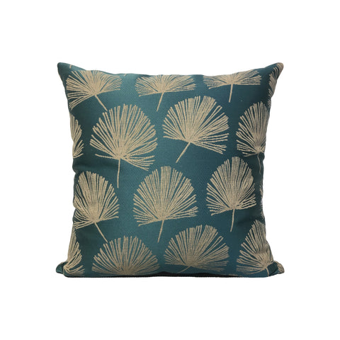 Randall Turquoise Inverted Throw Pillow 17x17""