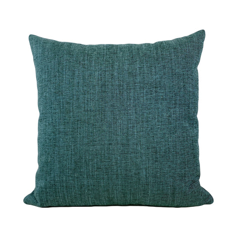 Remy Mermaid Teal Throw Pillow 20x20""