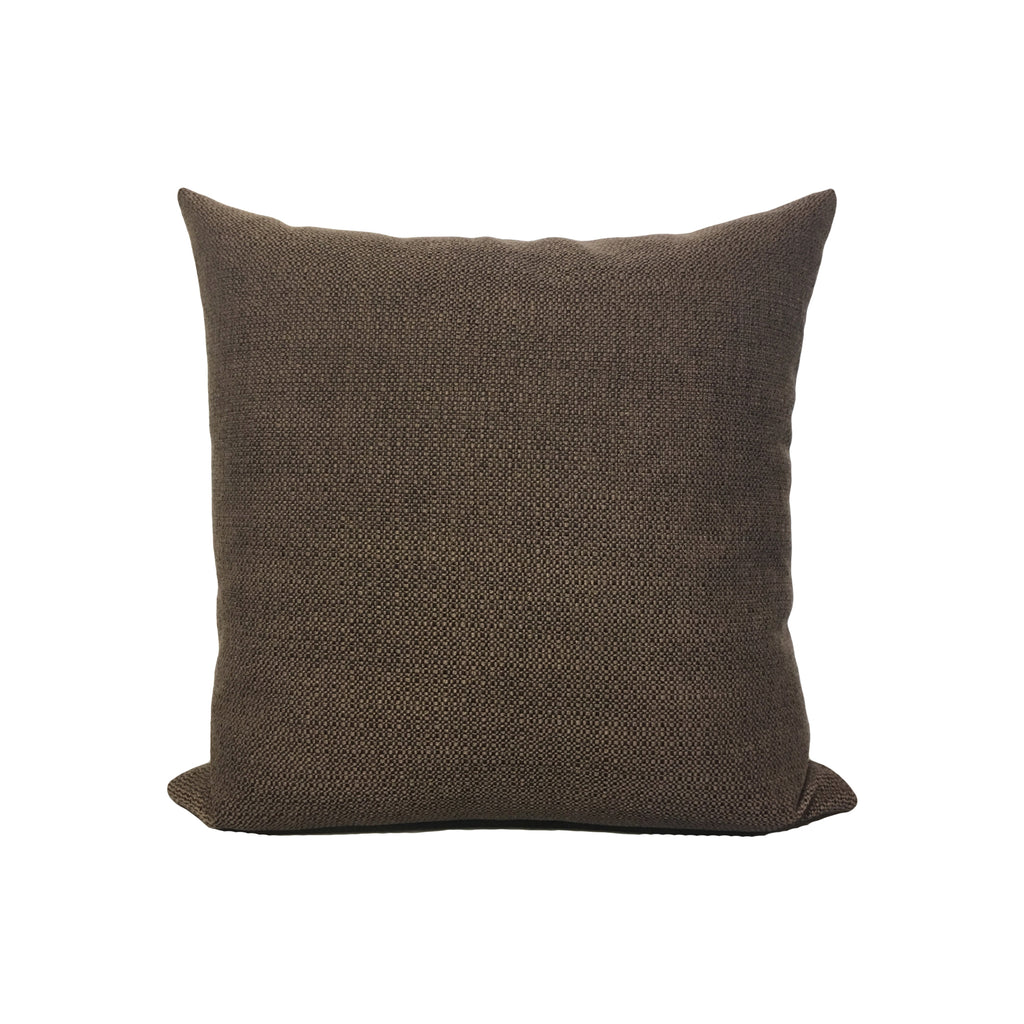 Restored Coffee Throw Pillow 17x17""
