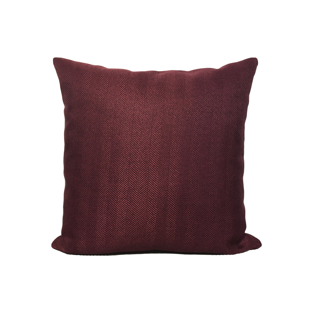 Revolution Rosewood Throw Pillow 17x17""