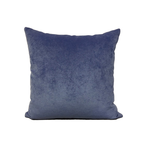 Royal Blue Shock Throw Pillow 17x17""