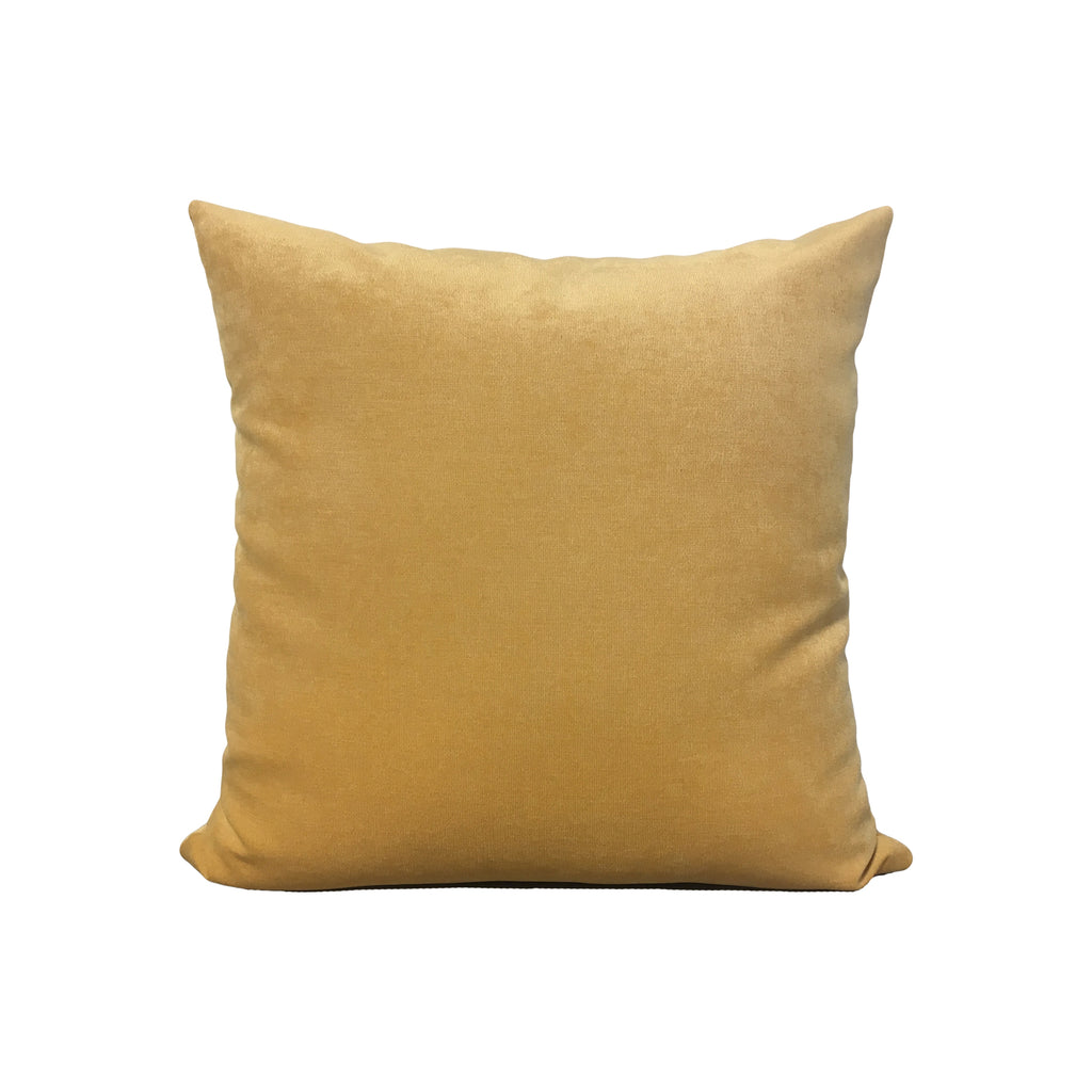 Royal Chenille Butter Throw Pillow 17x17""