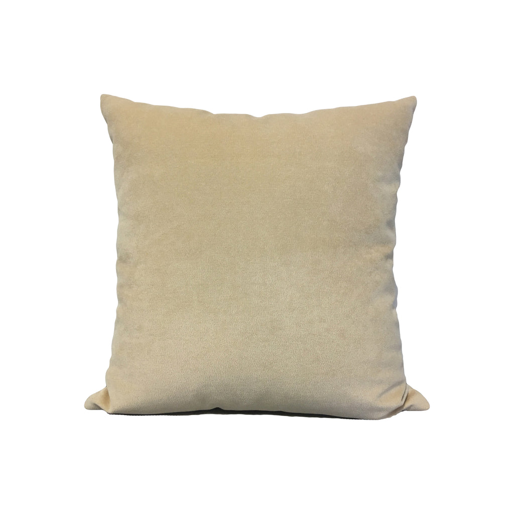 Royal Cream Throw Pillow 17x17""