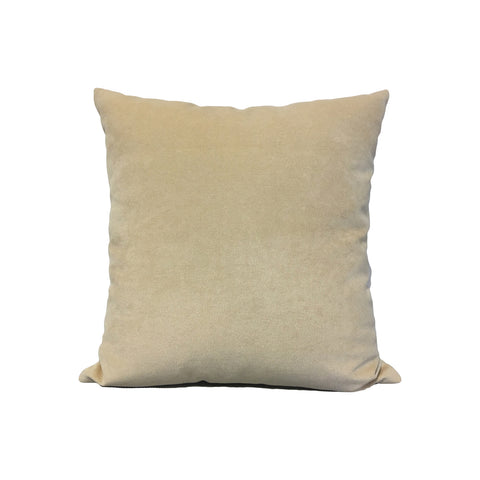 Royal Chenille Cream Throw Pillow 17x17""