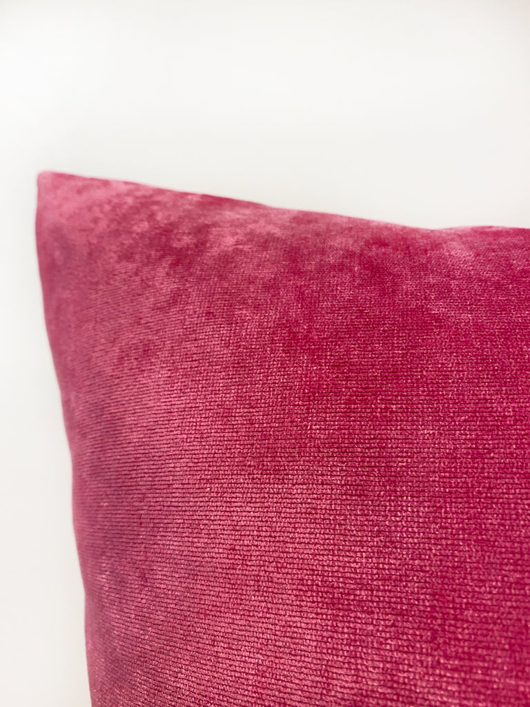 Royal Hot Pink Euro Pillow 25x25""