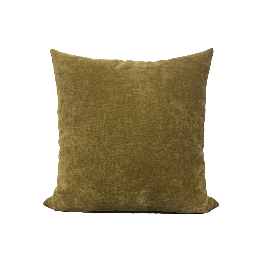 Royal Light Brown Throw Pillow 17x17""