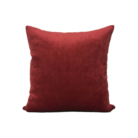 Royal Poppy Red Throw Pillow 17x17""