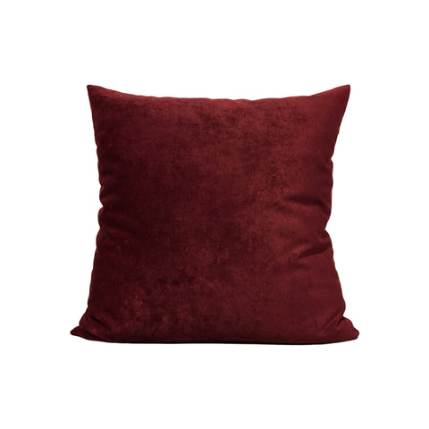 Royal Red Wine Throw Pillow 17x17""