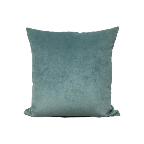Royal Chenille Sea Breeze Blue Throw Pillow 17x17""