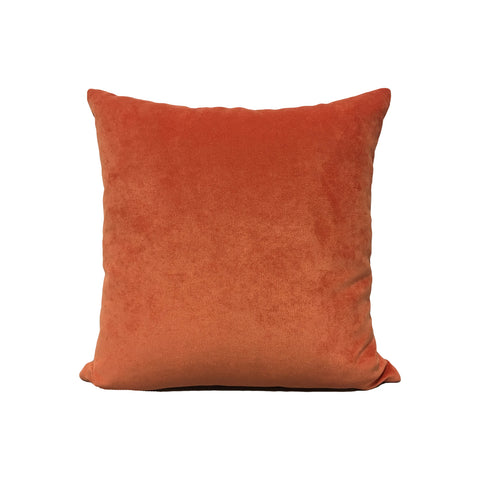 Royal Chenille Tangerine Throw Pillow 17x17""