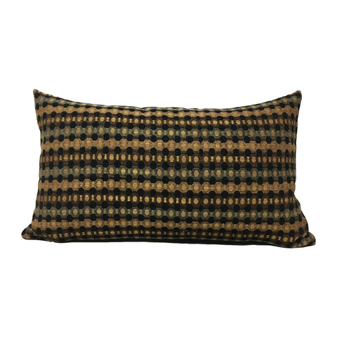 Rudolph Geometric Lumbar Pillow 12x22""
