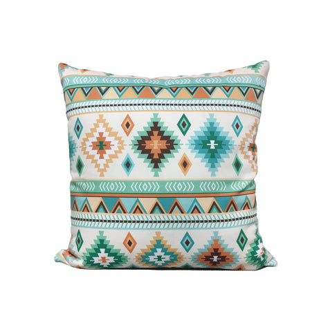 Sand Kilium Southwest Throw Pillow 17x17""