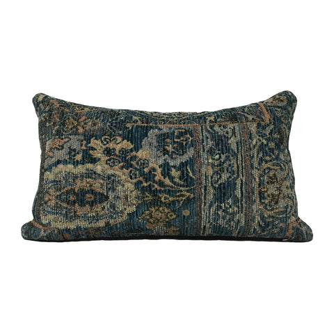 Scandinavia Ocean Wave Lumbar Pillow 12x22""