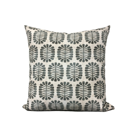 Seeded Slate Throw Pillow 17x17""