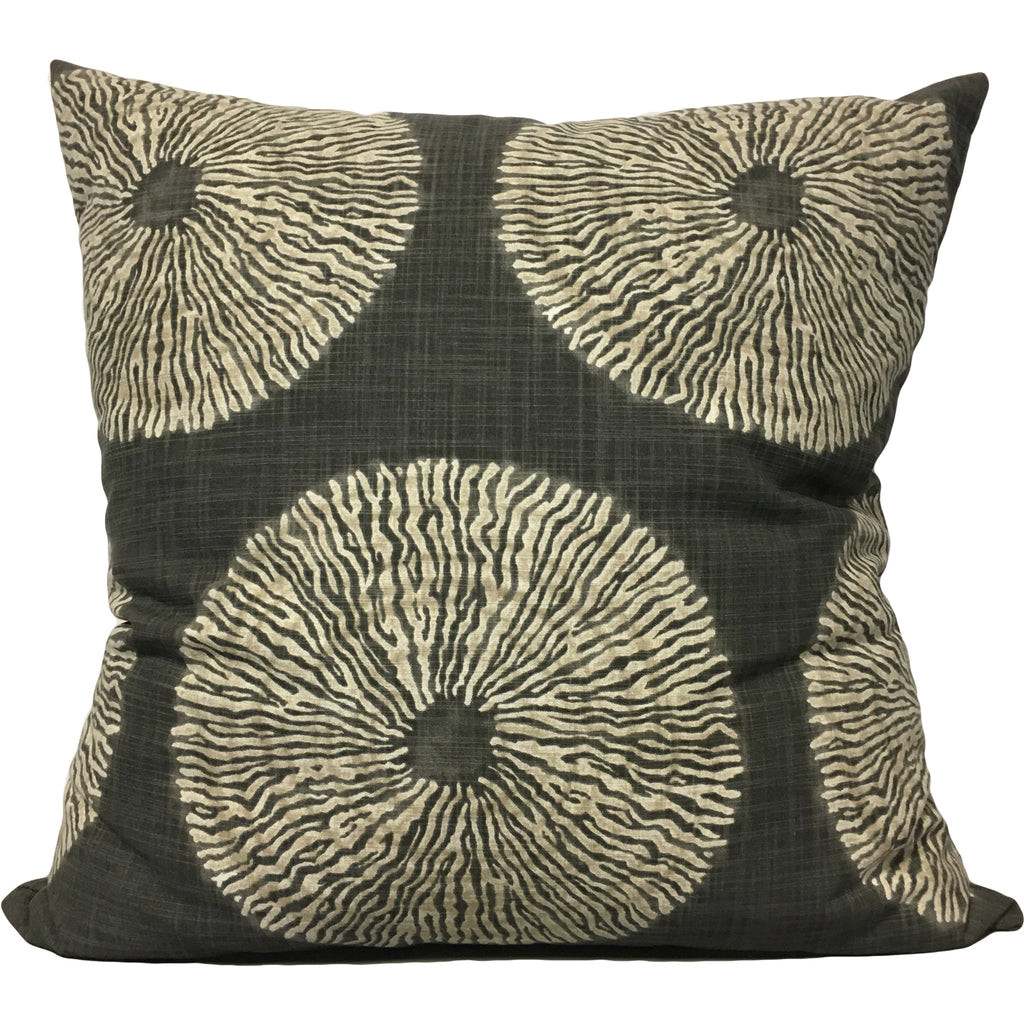 Shibori Euro Pillow 25x25""