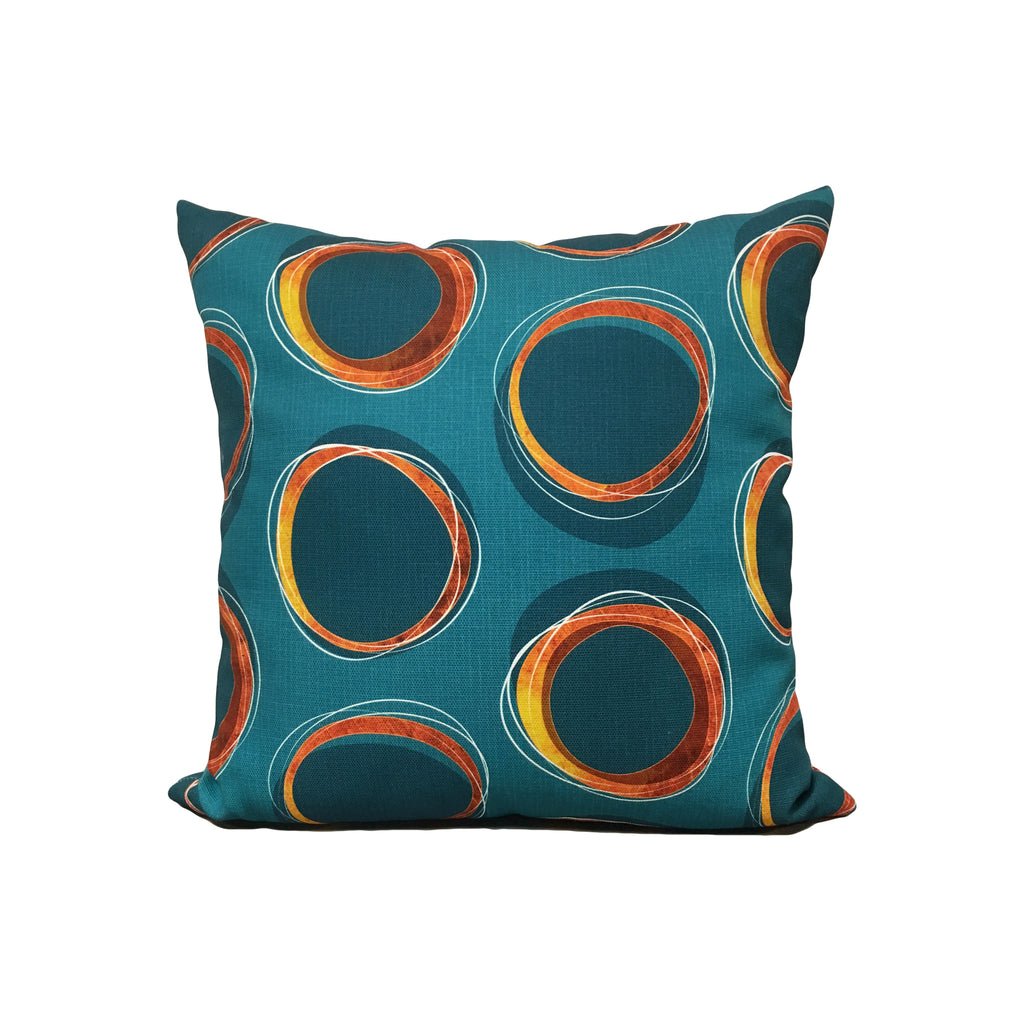 Solar Eclipse Throw Pillow 17x17""