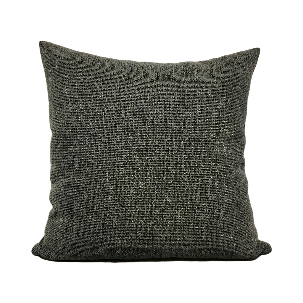 Stardust Charcoal Grey Throw Pillow 20x20""