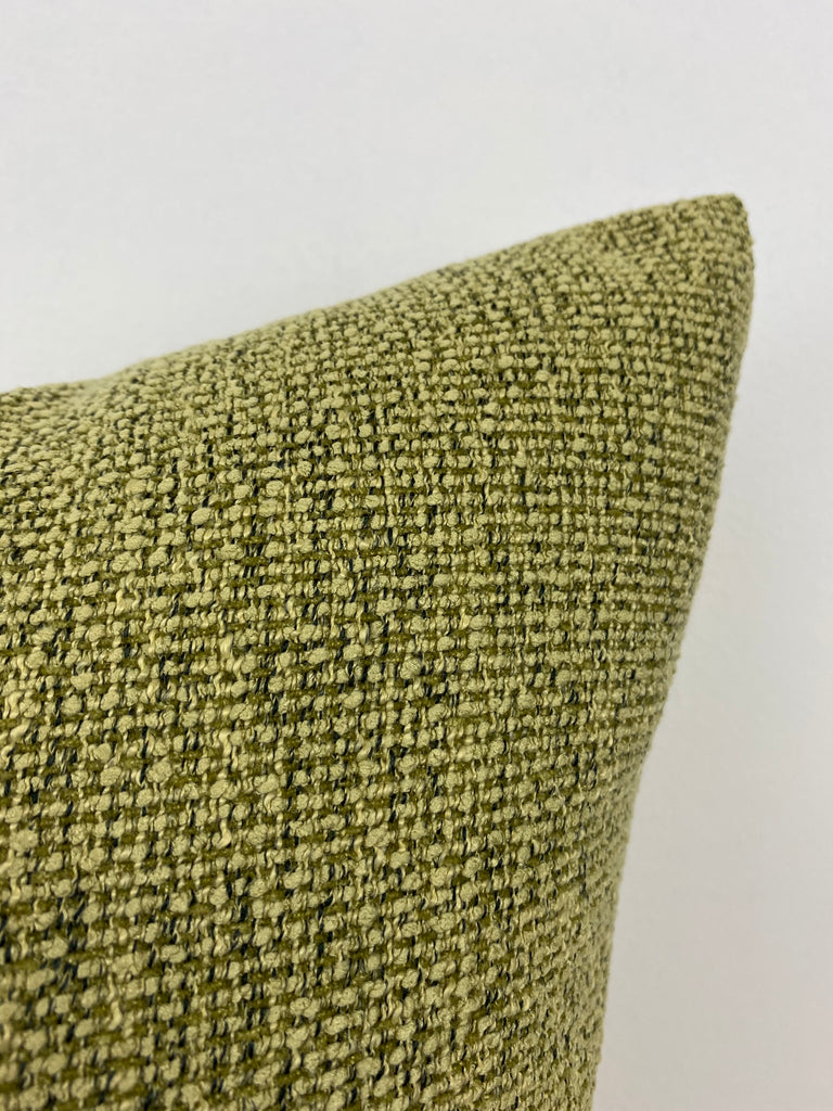 Stardust Pistachio Green Throw Pillow 20x20""
