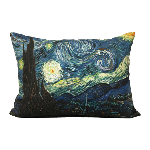 Starry Night Throw Pillow 14x23""