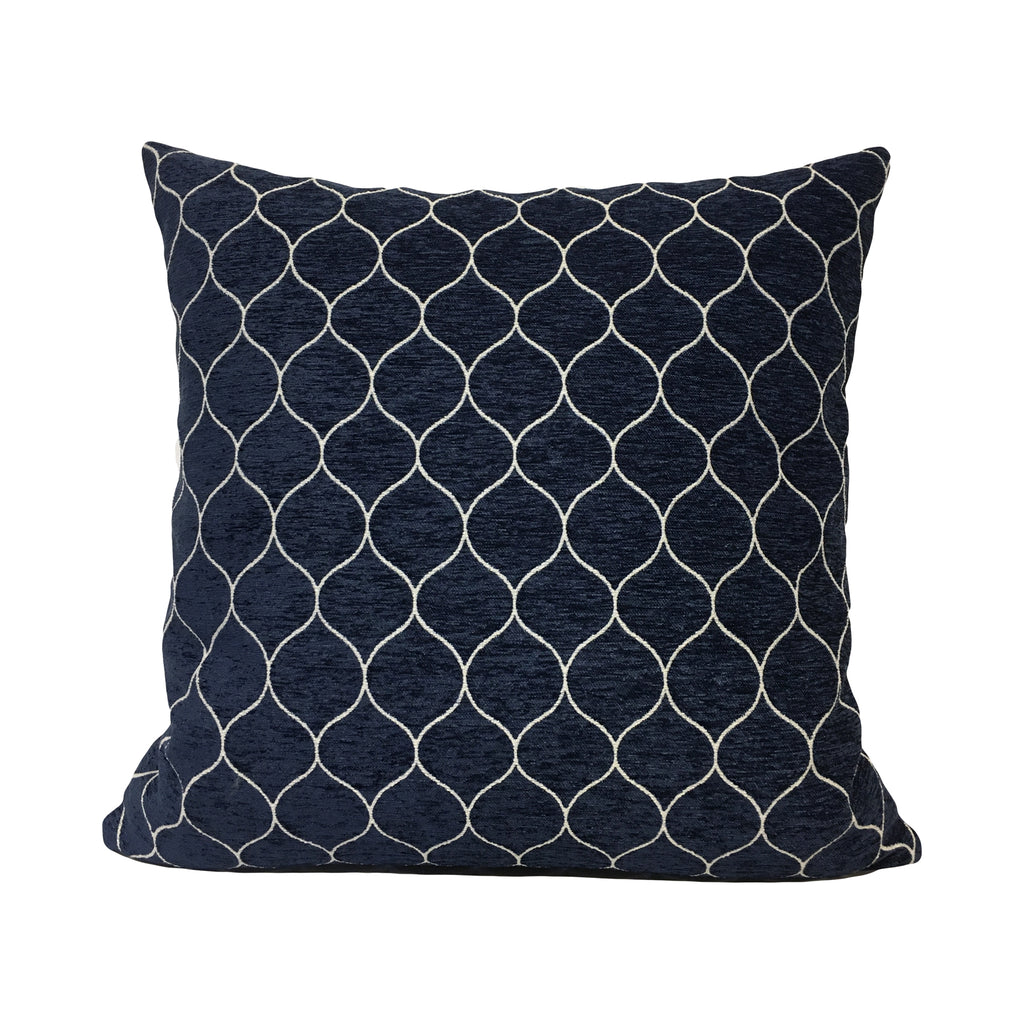 Stella Midnight Throw Pillow 20x20""