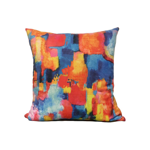 Summertime Throw Pillow 17x17""