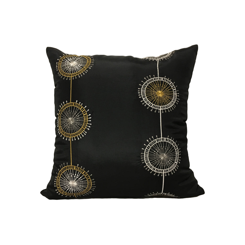 Sunbursts Throw Pillow 17x17""