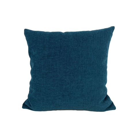 Teal Drop Throw Pillow 17x17""