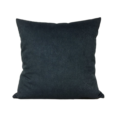 Teal Mottle Throw Pillow 20x20""