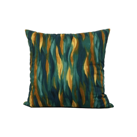 Terracina Teal Throw Pillow 17x17""