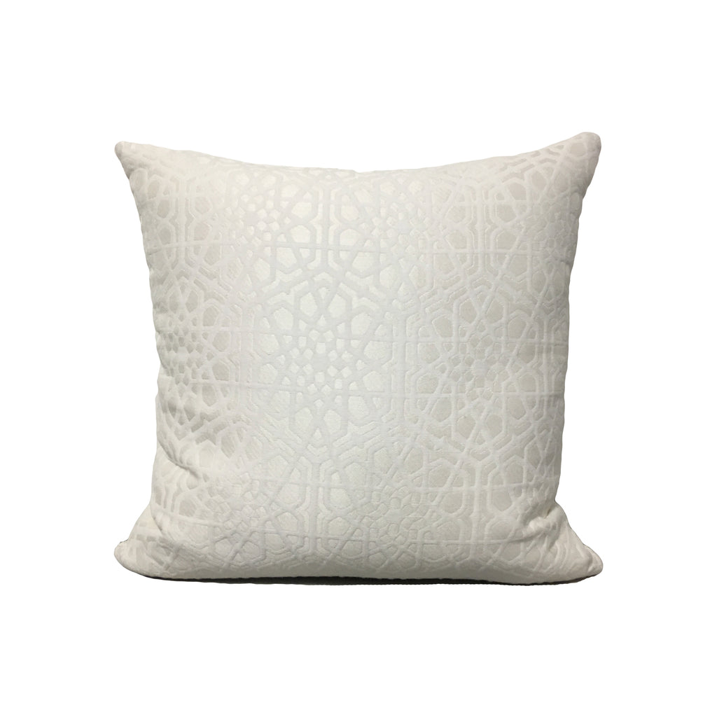 Theresa Snow Throw Pillow 17x17""