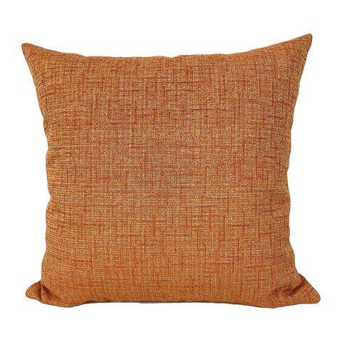 Tiffany Apricot Orange Throw Pillow 20x20""