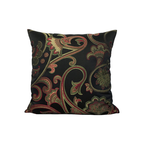 Trellis Blacken Throw Pillow 17x17""
