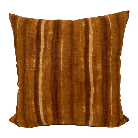 Tulane Rust Throw Pillow 20x20""