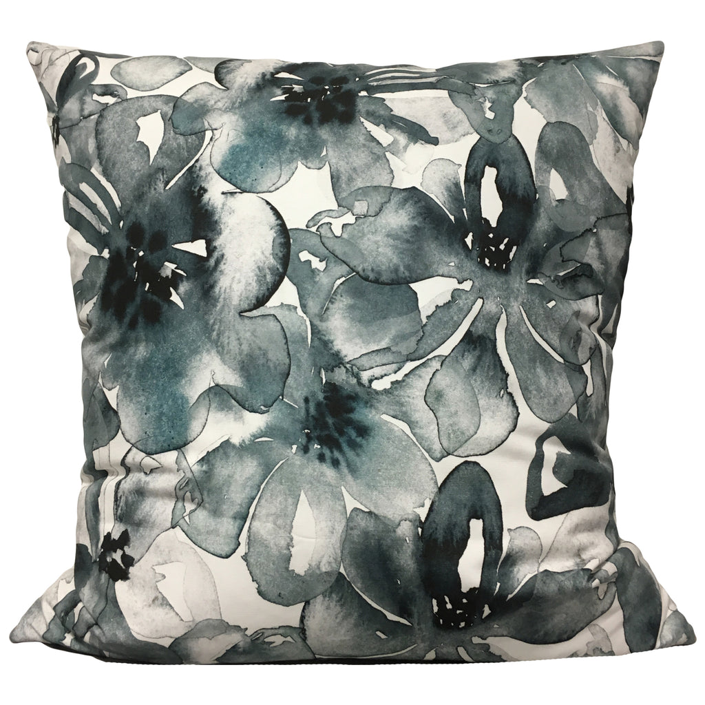 Watercolour Floral Euro Pillow 25x25""