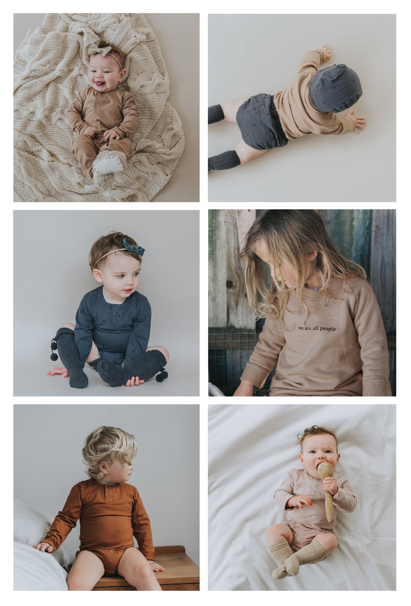 buck and baa winter 2019 organic cotton baby clothing range