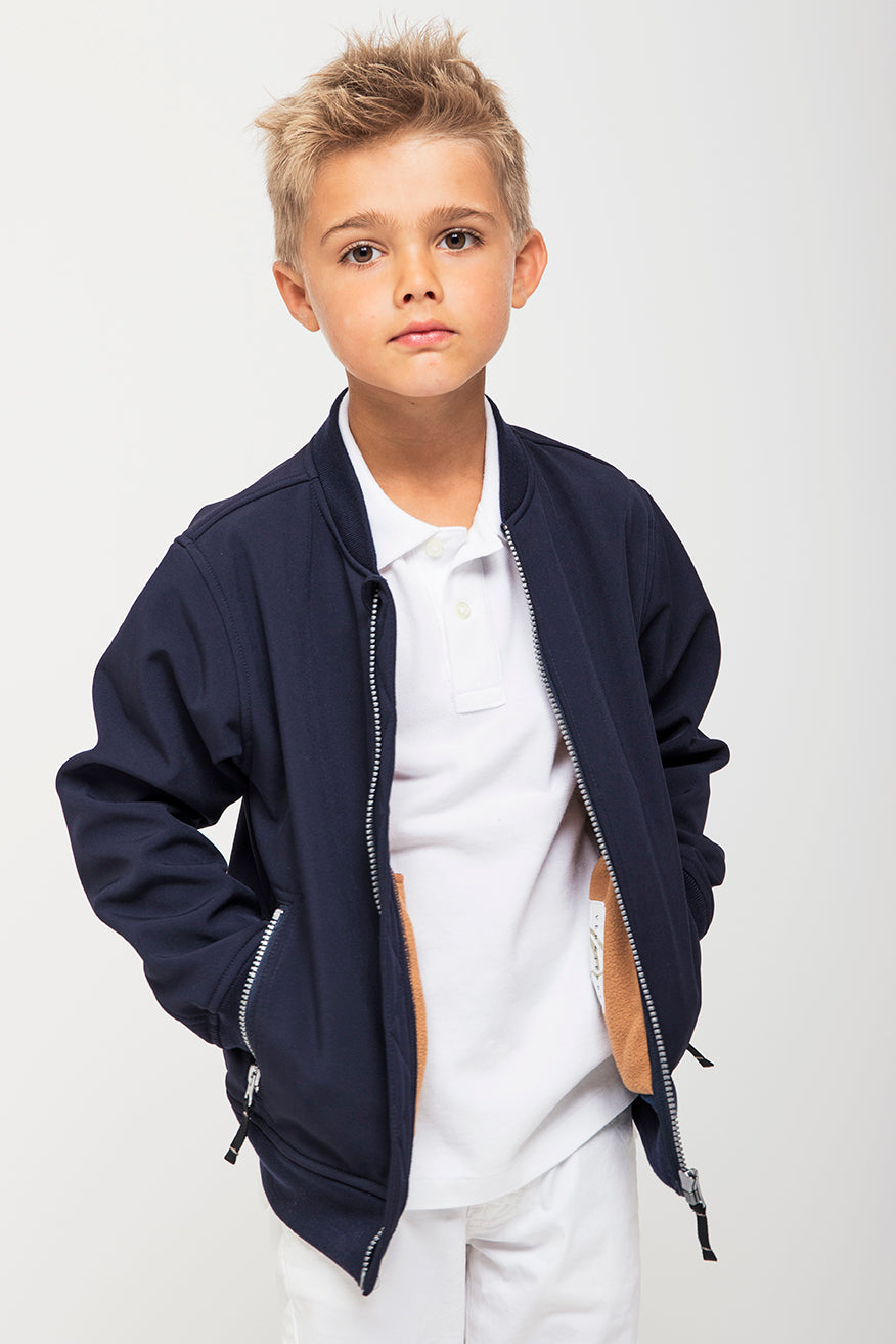 boy with jacket