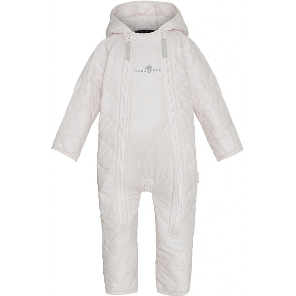 VER de TERRE Baby thermo-overall Babysuit 405 Rose powder