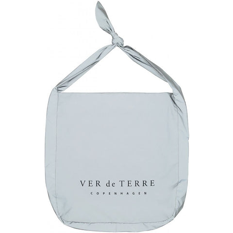 VER de TERRE Reflective shopping bag Accessories 045 Reflective grey