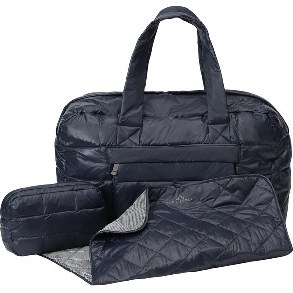 VER de TERRE Baby bag set w/purse and changing pad Accessories 600 Navy