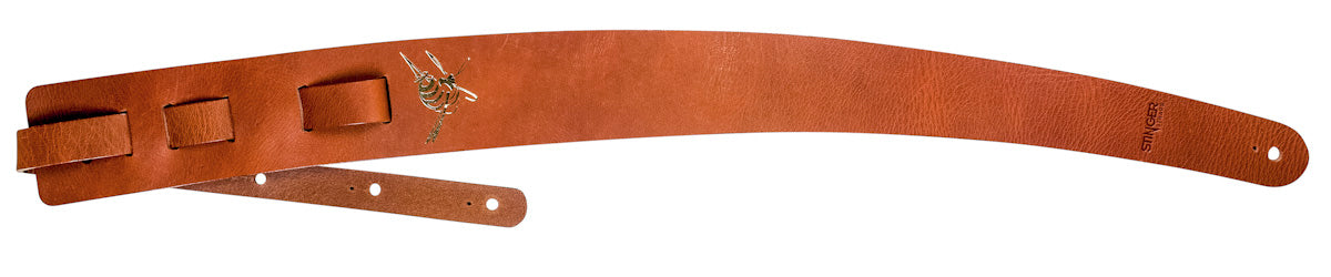 Tan brown leather strap - Playin Jane by Stinger Straps